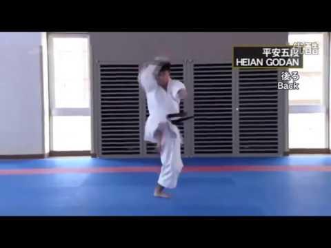 HEIAN GODAN Masao Kagawa , Koji Arimoto Shotokan Karate Kata