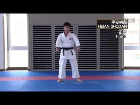 HEIAN SHODAN Masao Kagawa , Takumi Sugino Shotokan Karate