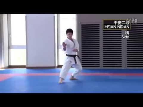 HEIAN NIDAN Masao Kagawa , Takato Soma Shotokan Karate Kata
